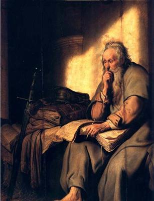 L'Apôtre Paul (Rembrandt Harmenszoon van Rijn)
